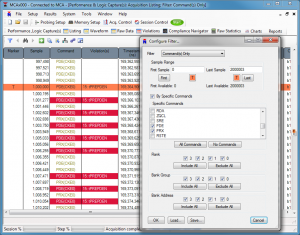 MA4100 Automated Analysis Search and Filter