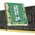 Memory Component Interposer Installed on a DIMM