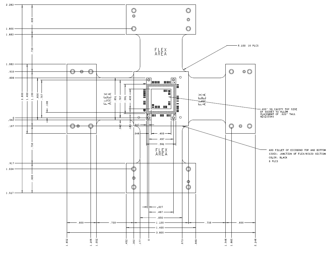 Lpddr2 168 Ball Logic Compliance Interposer Nexus Technology Inc Analyzer Diagram Socketed Mechanical